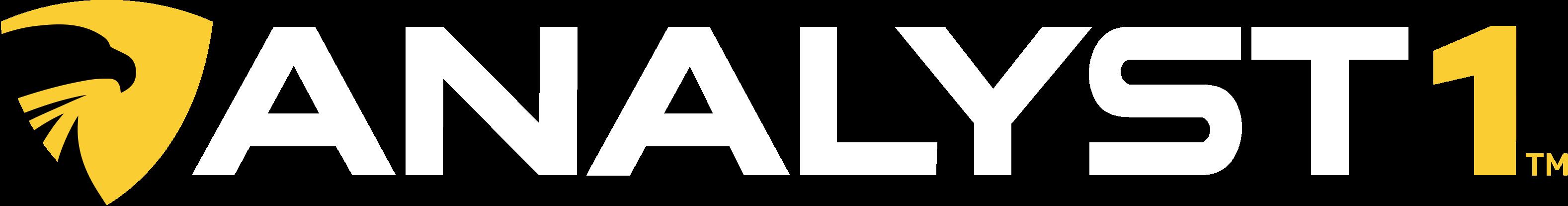 Analyst1 Brand Identity - Reversed